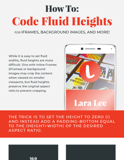 How to Code Fluid Heights for Background Images and Videos with CSS