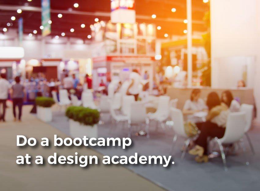 Graphic. Do a bootcamp at a design academy.