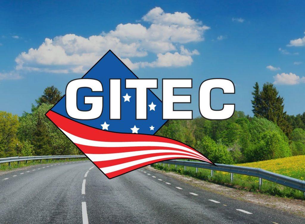 Case Study: GITEC 2016 Summit. Logo overlaid on a summery photo of a highway.