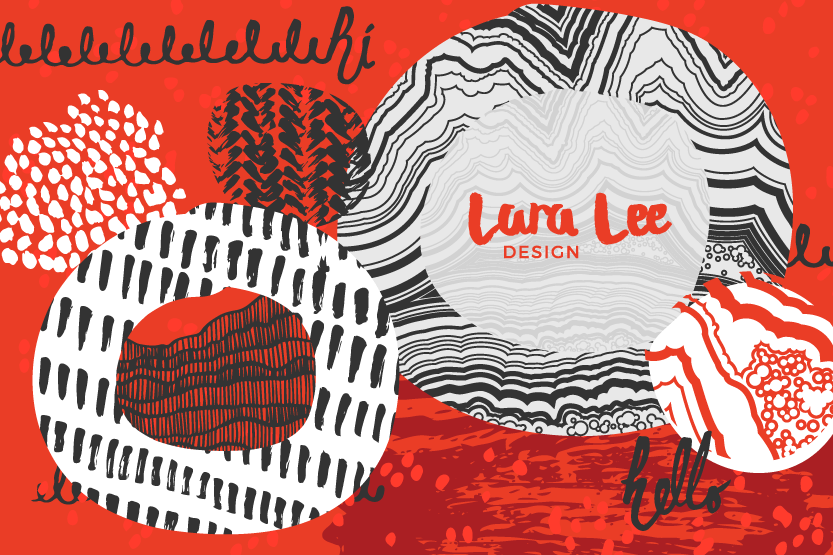 Lara Lee Design abstract illustration for graphic design trends and their takeaways.