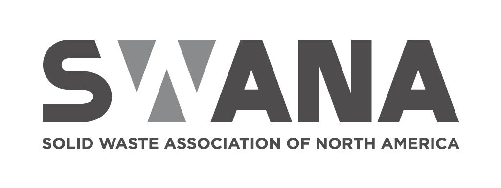 Final, B&W SWANA logo.