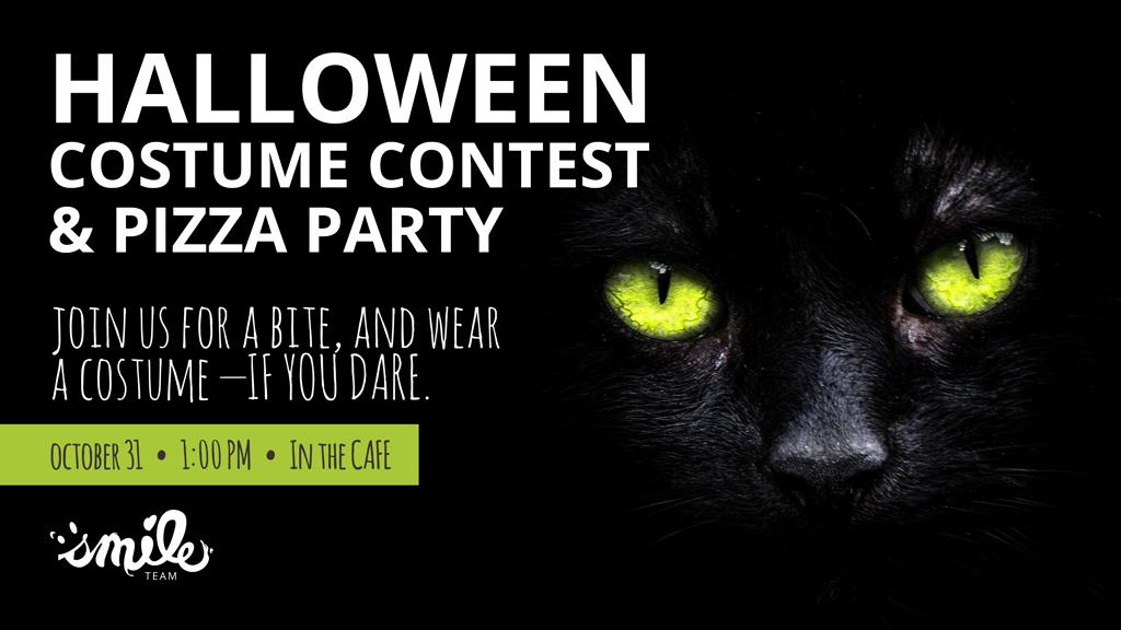Halloween Costume Contest TV slider by Smile Team.