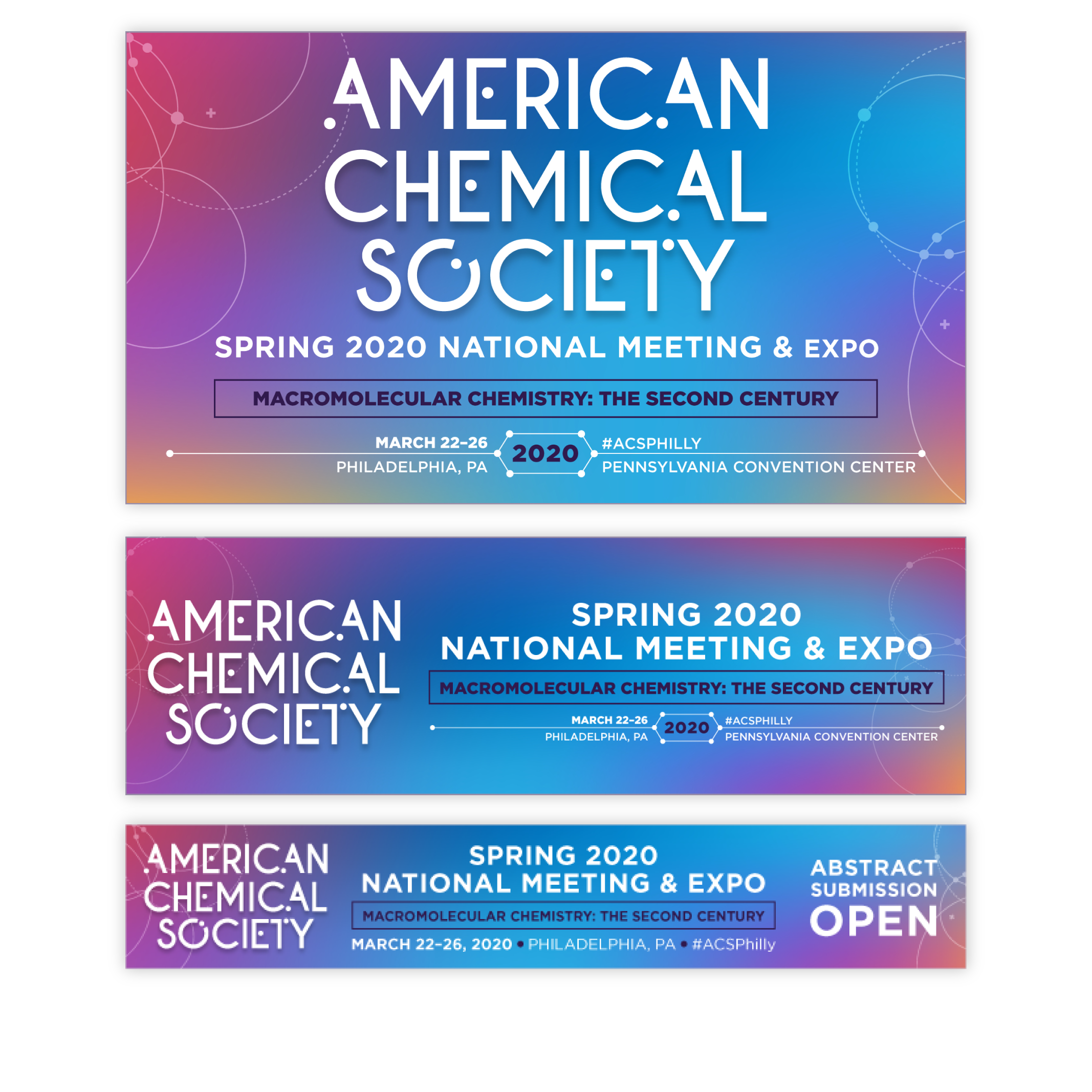 Onsite electronic signage included a teaser for the upcoming Spring 2020 National Meeting & Expo.