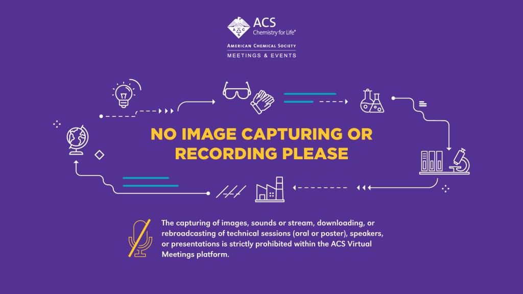 No image capturing or recording please.