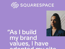 Squarespace Web Ad