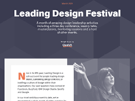 Leading Design Festival 2021