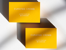 For Curated Crowd by Jot Paper Co