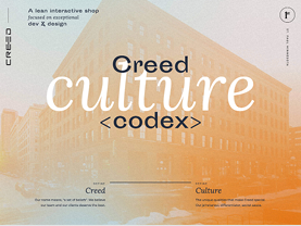 Creed Culture Codex