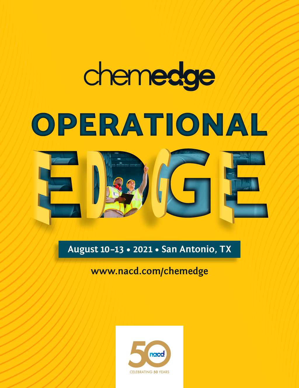 """And the last initial branding concept idea #4 with the """"Operational Edge"""" marketing tagline."""