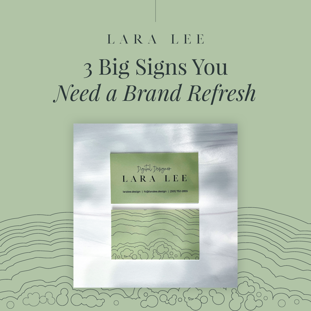 3 Big Signs You Need a Brand Refresh