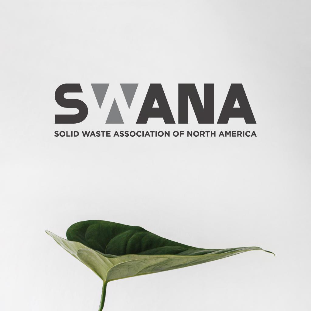 Award-winning business logo design for SWANA business logo