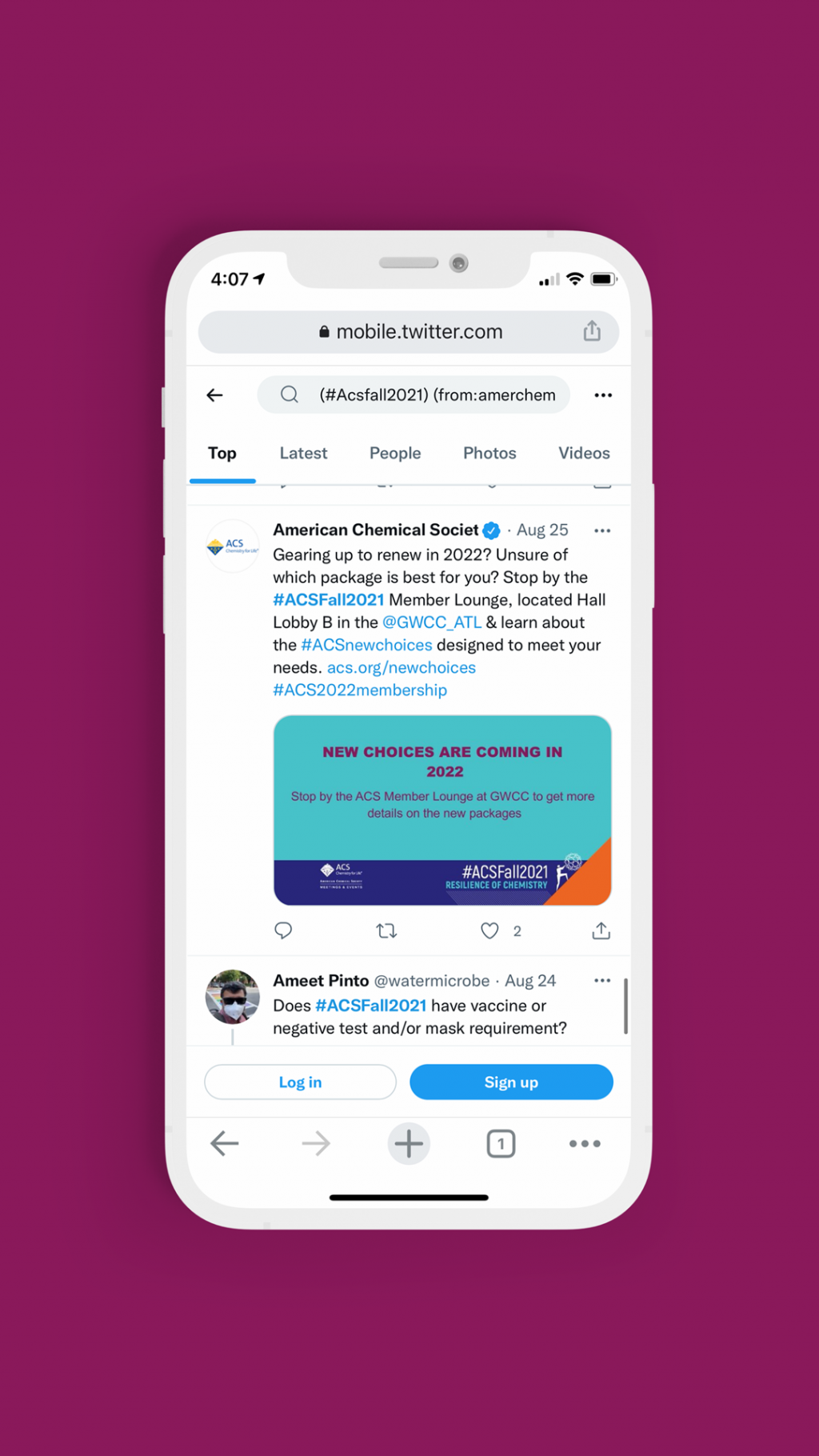 The customizable social media graphic live in a Twitter feed.