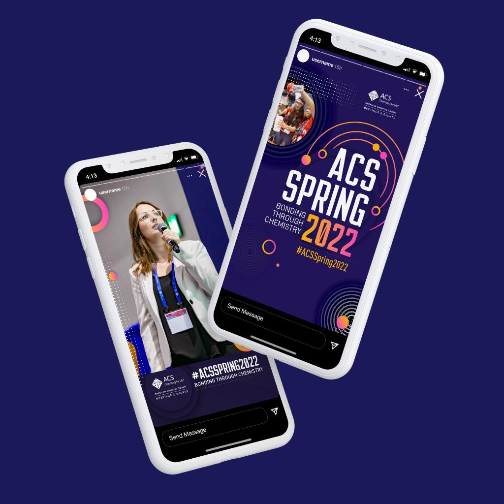Case Study: ACS 2022 Spring Meeting Social Media Graphics